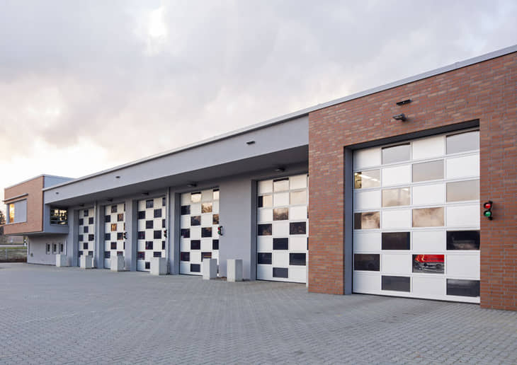 portoni sezionali industriali Hormann