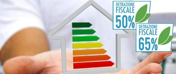 detrazione fiscale 50 - 65 %